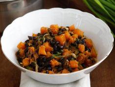תבשיל שעועית שחורה ודלעת (צילום: אפיק גבאי, אוכל טוב)