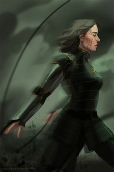 Legend of Korra: Lin Beifong - This fanart is amazing and at the same time, PURE BADASS.