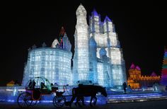 Harbin ice castle ice festival