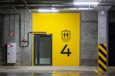 Floor Signage, Office Signage, Wayfinding Signage, Signage Design, Factory Architecture, Architecture Design, Popup, Basement Painting, Jewelry Store Design