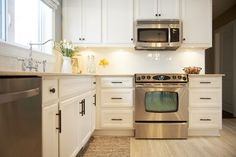 TIP: Do quick post-dinner cleanup...wipe counters & stove top, sweep the floor, run the dishwasher. Kitchen by Sonya Kinkade Design  #kitchen