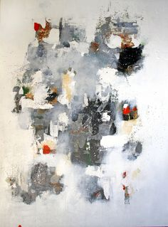 Winter Diversions 3 by Sio Montera - Mixed Media on Canvas