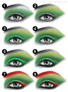 Poison Ivy Make-up. I could be Poison Ivy for Halloween! But you'll have to help with make-up Poison Ivy Cosplay, Poison Ivy Costumes, Poison Ivy Dress, Diy Posion Ivy Costume, Halloween Kostüm, Halloween Cosplay, Cosplay Costumes, Halloween Costumes, Halloween Face Makeup