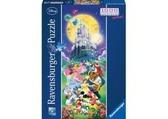 Rburg - Disney Characters Puzzle 1000pc - prefer the other puzzle but this is cheaper and on the kindy catalogue website