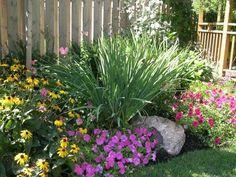 Front yard Pinner: low maintenance landscaping ideas | My DIY Backyard Ideas Low Maintenance Backyard Landscaping Ideas | Decor It Darling