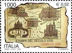 Francobollo Italia. Giubileo 2000