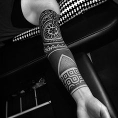 filipino celebrities with tattoos Black Line Tattoo, Line Tattoos, Arm Tattoos, Arm Band Tattoo, Black Tattoos, Body Art Tattoos, Sleeve Tattoos, Geometric Sleeve Tattoo, Filipino Tattoos