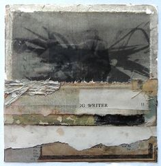 power and fragility inhabit their shared space harmoniously in crystal neubauer's work. i discovered her collages, mixed media p...