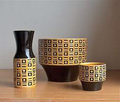 Hornsea Pottery, Imprest, designed by John Clappison, 1964-1965.