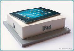 iPad Cake by Scrumptious Buns (Samantha), via Flickr