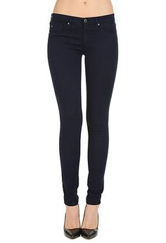 AG Jeans Official Store, The Sateen Legging - Double Indigo, double indigo, Women's the Legging, LSN1288