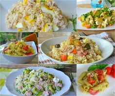 Raccolta di ricette per primi piatti freddi estivi Italian Dishes, Italian Recipes, My Favorite Food, Favorite Recipes, Salad Recipes, Healthy Recipes, Salty Foods, Food For A Crowd, Antipasto