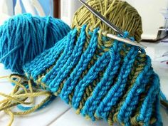 Introduction to Brioche Knitting (3 hours) taught by Mercedes Tarasovich-Clark