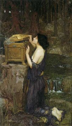 Pandora, John William Waterhouse
