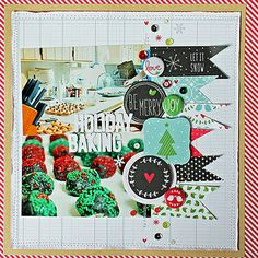 Holiday-Baking---Layout by Lawn Fawn Design Team, via Flickr