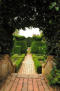 Hidcote Manor, near Chipping Campden, Gloucestershire, England