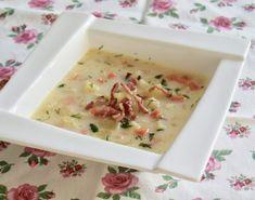 Zupa ziemniaczana z boczkiem | Wulkan-Smaku.pl Cheeseburger Chowder, Food, Essen, Meals, Yemek, Eten