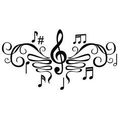 Music Notes Clipart Black And White Clipart Panda Free