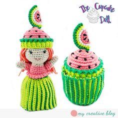 Ravelry: Cupcake Topsy-Turvy Doll pattern by Heather Boyer