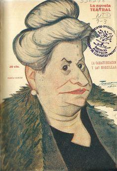 La caracterización y las morcillas. María Canojo. Madrid : La novela corta. 1921. http://bvirtual.bibliotecas.csic.es/csic:csicalephbib000556358