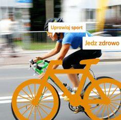 """""""Uprawiaj sport, jedz zdrowo, żyj marzeniami, kolorowo!"""" Autor: Monika"""
