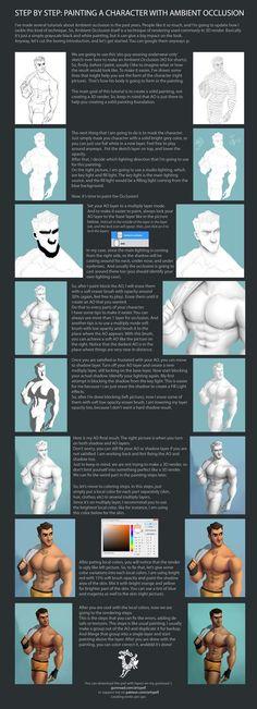 ArtStation - Men Ambient Occlusion Tutorial, David Adhinarya Lojaya