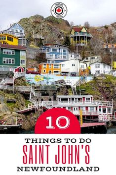 Ten Things To Do in St John& Newfoundland & & Must Do Canada Source by angela_gotigers St John's Canada, Visit Canada, Alberta Canada, Saint John Canada, Montreal Canada, Saint John New Brunswick, New Brunswick Canada, Newfoundland Canada, Newfoundland And Labrador