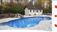 I love this the simple design of this pool! It looks great in this yard. I would love to have a pool like this in my backyard! I just need to convince my husband that we should get a pool! Emily Smith