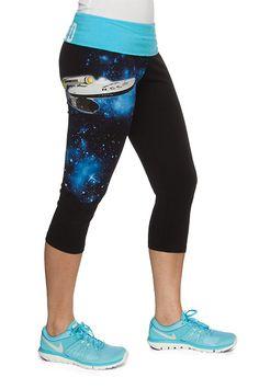 Boldly Go Capri Yoga Pants - Exclusive