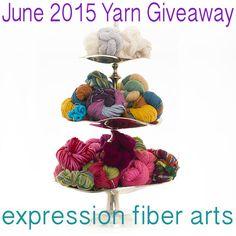 free june 2015 luxury yarn giveaway