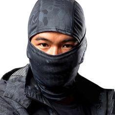 Edal Tactical Outdoor Airsoft Ski Quick-drying Hood Balaclava Full Face Mask. Constructed by quick-drying fabric, sweat-wicking and breathable. Fit under helmet, Offer full face protection. Easily to folds up for carrying. Designed for outdoor activity use, such as paintball, hunting, ski, and so on. Package Included: 1pcs Face Mask.