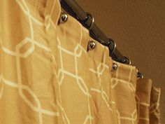 Refresh your bathroom with these tips for clean shower curtains.