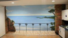 tapisseries trompe l'oeil paysages art - Recherche Google