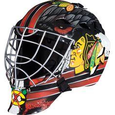 NHL Chicago Blackhawks Franklin Sports Goalie Helmet