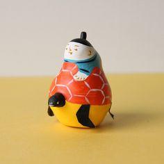 ロードワークス 琉球張子 「カメ乗り浦島太郎」- dieci|online shop