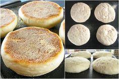Sourdough English Muffins: from starter to beautiful finish: King Arthur Flour – Baking Banter