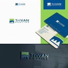 New roofing company logo by gogocreative