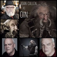 John Callen as Oin by Heather Sondreal