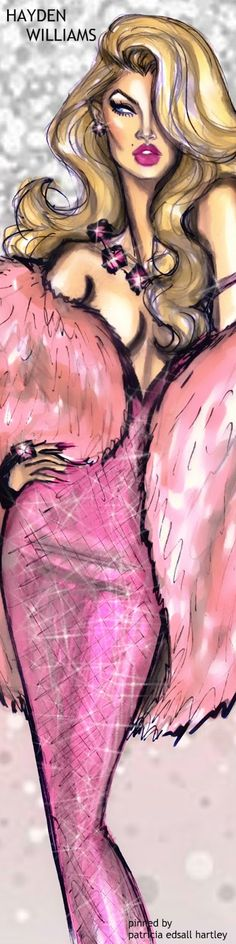 Hello To Everyone! I wanted to thank you all for your lovely pins. Each of you have made this board fabulously luxurious and way out of my price range! lol...Thanks again, xoxo...Mandy (Cool Sketches Hayden Williams)