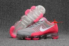 finest selection 152f5 c4c70 New Year Deals Nike Air Vapormax Kpu Womens Running Shoes Grey Pink