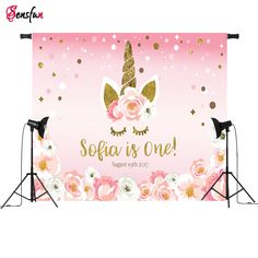 Cooperative Sensfun Pink Donut Wall Candy Bar Photography Backdrop Girls Baby Shower 1st Birthday Party Dessert Table Banner Backgrounds Modern And Elegant In Fashion Photo Studio