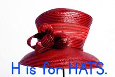 H is for RED HATS
