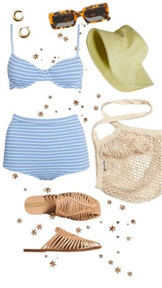 laguna day Outfit | ShopLook Beach Day Outfits, Mini Hoop Earrings, European Summer, Outfit Maker, Aesthetic Clothes, Outfit Of The Day, Casual, How To Wear, Closet
