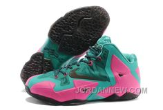 http://www.jordannew.com/nike-lebron-james-11-pink-new-greenblack-for-sale-discount.html NIKE LEBRON JAMES 11 PINK/NEW GREEN-BLACK FOR SALE DISCOUNT Only $95.00 , Free Shipping!