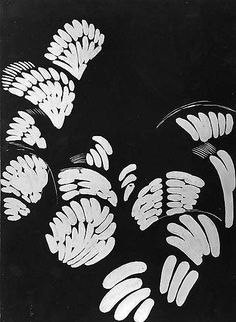 """Study for """"Four Stories in Black and White"""" by Frantisek Kupka, 1925, The Metropolitan Museum of Art"""