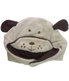 Bear Patch Beige Fur Cap