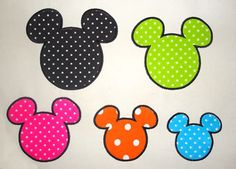 INSTANT DOWNLOAD - mouse ears 049 - mickey mouse head Applique, Applique Embroidery,  Disney Applique. $2.50, via Etsy.
