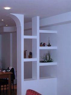 Living Room Partition Design, Living Room Divider, Room Partition Designs, Living Room Tv Unit Designs, House Arch Design, My Home Design, Home Interior Design, Pop Design, Living Room Decor Inspiration