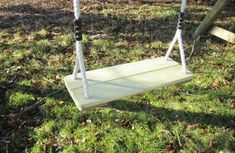 Triple Swing Frame with three double swing points for you to choose the swing seats to suit the age and ability of the children using it. Garden Swing Sets, Wooden Garden Swing, Wooden Swing Frame, Wooden Swings, Single Swing, Double Swing, Swing Seat, Porch Swing, Garden Play Equipment