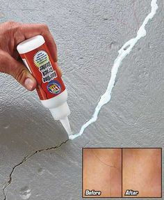 The Hairline Crack Sealer is an efficient way to fix a potentially expensive problem. It creates a fast drying bond and forms a waterproof, clear seal that's almost invisible. Works on wood, brick, tile, plastic, fiberglass and more. The bottle's tip pro